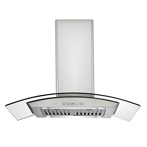 Ductless Vent Hoods For Cooktops ~ Zuhne ichorus inch kitchen island vented ductless