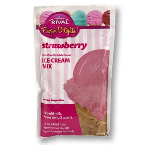 Rival Frozen Delights Vanilla Ice Cream Mix Single Package