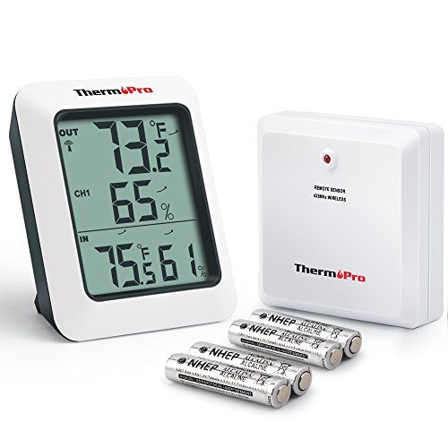 Thermopro Tp65 Digital Wireless Hygrometer Indoor Outdoor