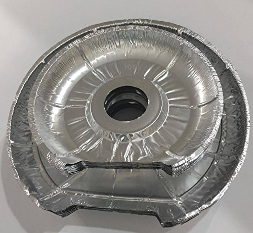 Chrome Drip Pan Set Replacement For Frigidaire Kenmore