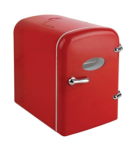 Red Curtis Mini Compact Refrigerator Appliancesy
