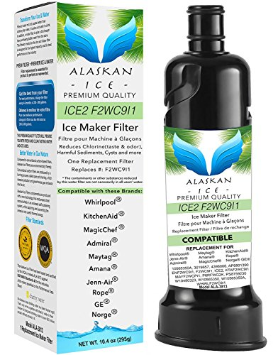 Ice2 F2wc9i1 Ice Maker Filter Certified And Compatible