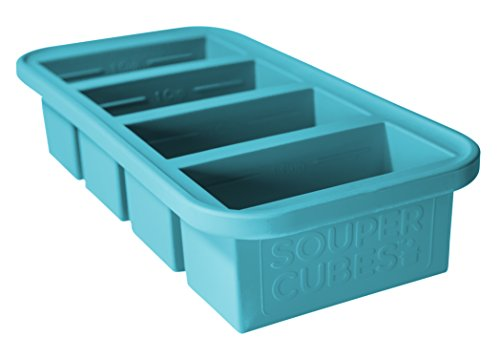 Souper Cubes Extra Large Silicone Ice Cube Tray Freeze