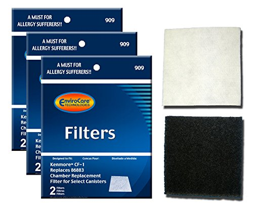 Envirocare Replacement Micro Filtration Vacuum Bags To Fit