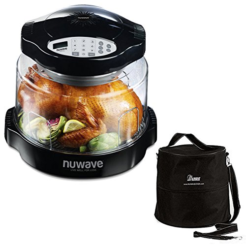 Nuwave Oven Red Pro Plus With Clear Dome Appliancesy