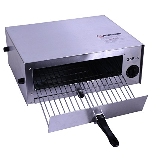Goplus Pizza Oven Stainless Steel Pizza Maker Machine