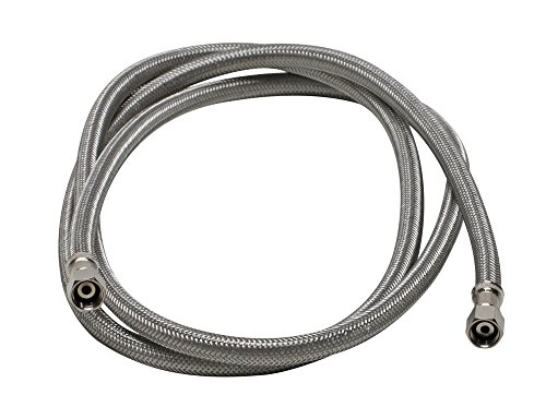 Eastman 41033 Ss Icemaker Connector With 1 4 Inch Comp X 1