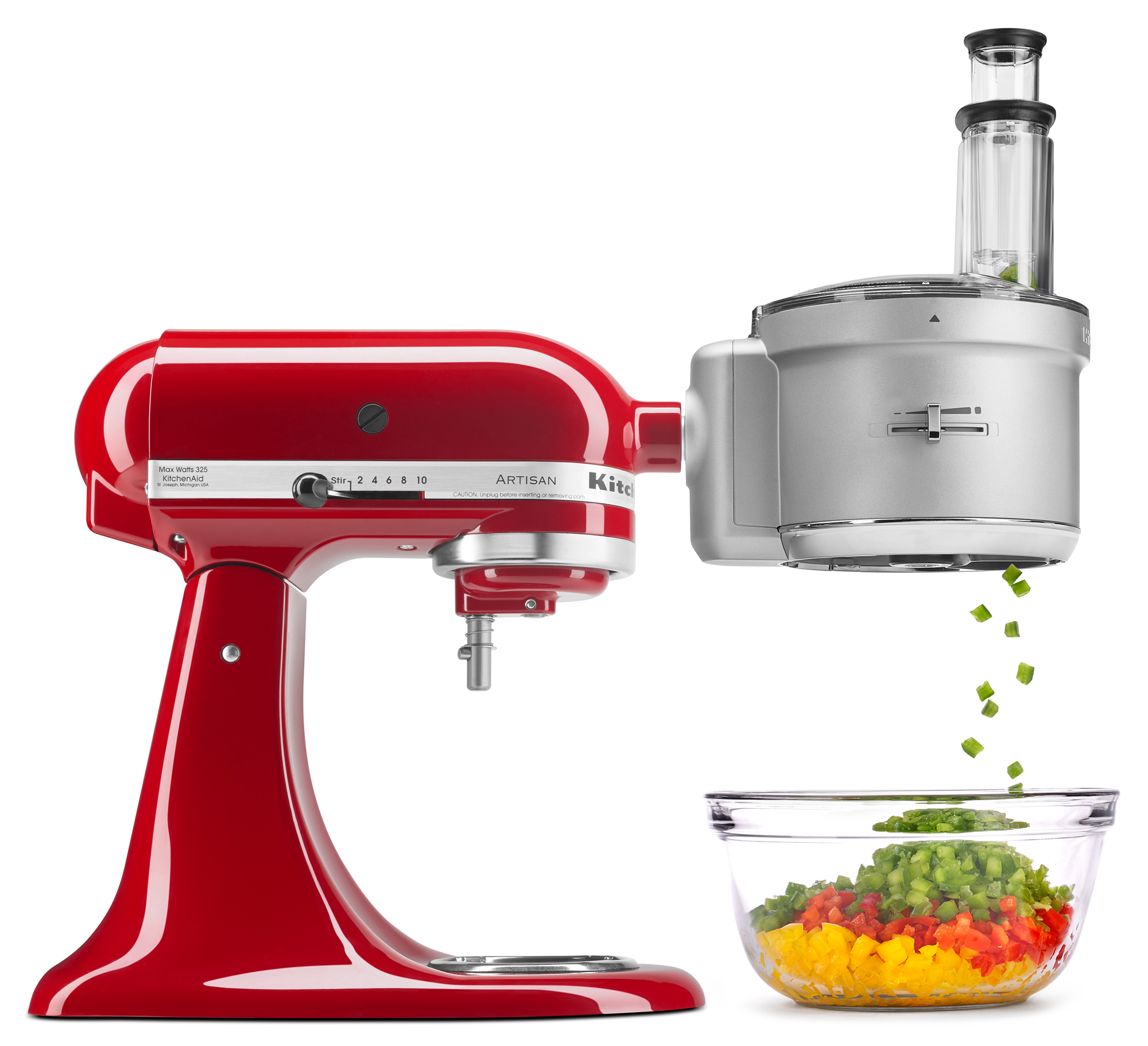 Spiralizer Attachment For Food Processor