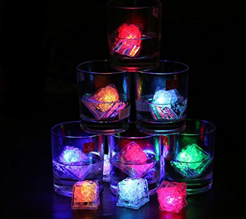 Led Ice Cubes Color Changing Light Multicolor Decorative