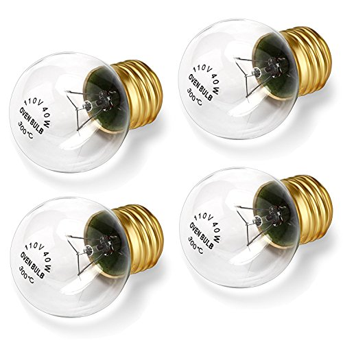 6 Pack 40 Watts Microwave Replacement Bulb For Most Ge And