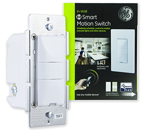 Ge Z Wave Plus Smart Control Dimmer Switch Wall White