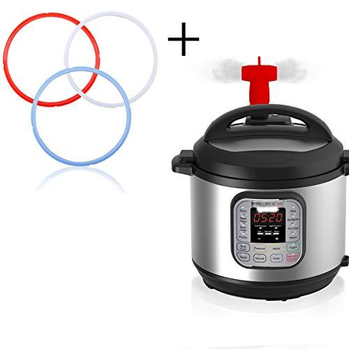 12 piece purple pressure cooker accessories by gineve fits instapot 6 qt insta pot 8 qt. Black Bedroom Furniture Sets. Home Design Ideas